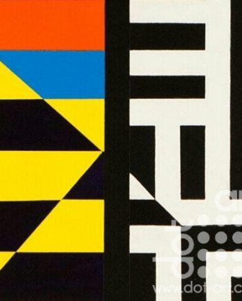 Colour Black White Composite 12 by John Petch