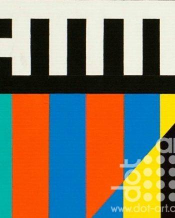 Colour Black White Composite 13 by John Petch
