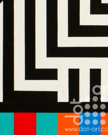 Colour Black White Composite 15 by John Petch