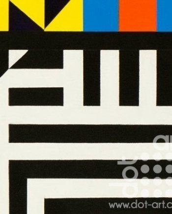 Colour Black White Composite 18 by John Petch