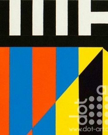 Colour Black White Composite 19 by John Petch