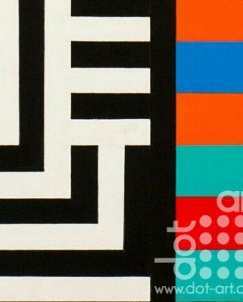 Colour Black White Composite 2 by John Petch