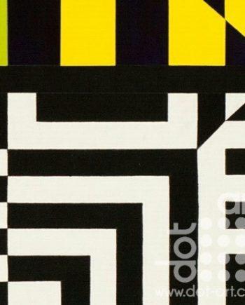 Colour Black White Composite 21 by John Petch