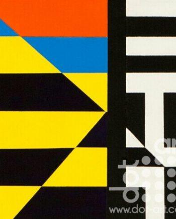 Colour Black White Composite 23 by John Petch