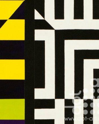 Colour Black White Composite 3 by John Petch