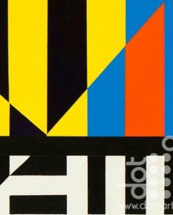 Colour Black White Composite 6 by John Petch