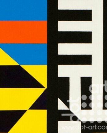 Colour Black White Composite 8 by John Petch
