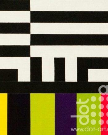 Colour Black White Composite 9 by John Petch