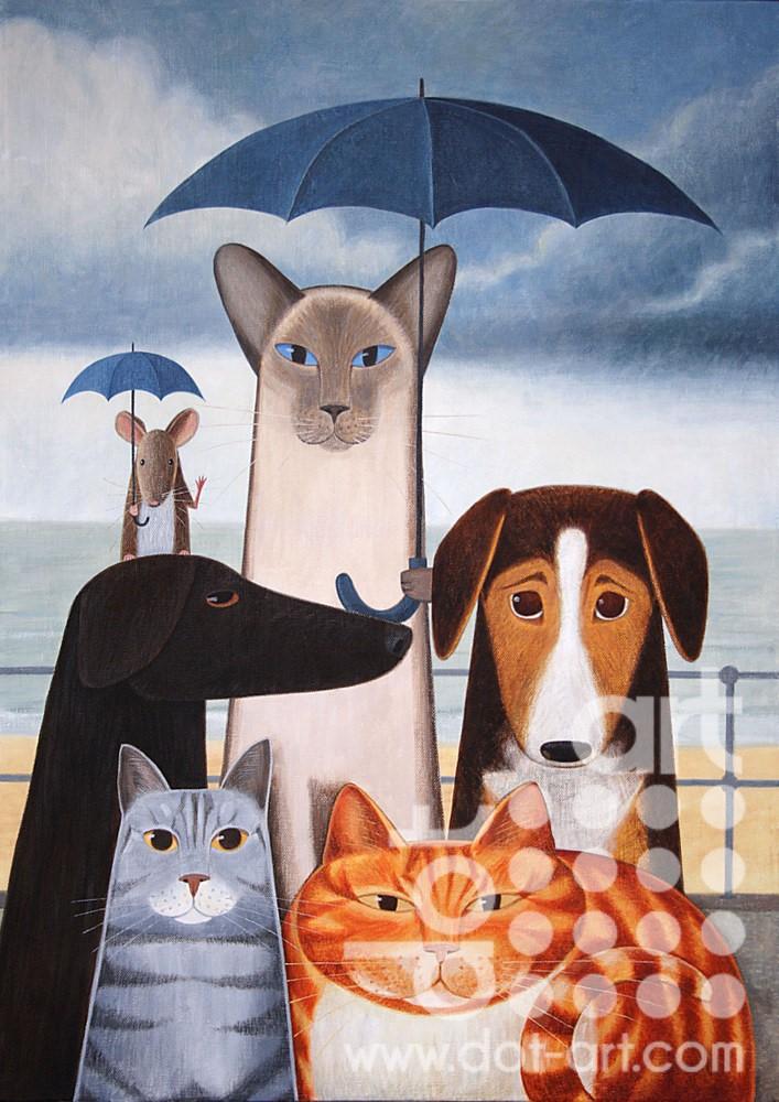A Rainy Day by Martin Jones