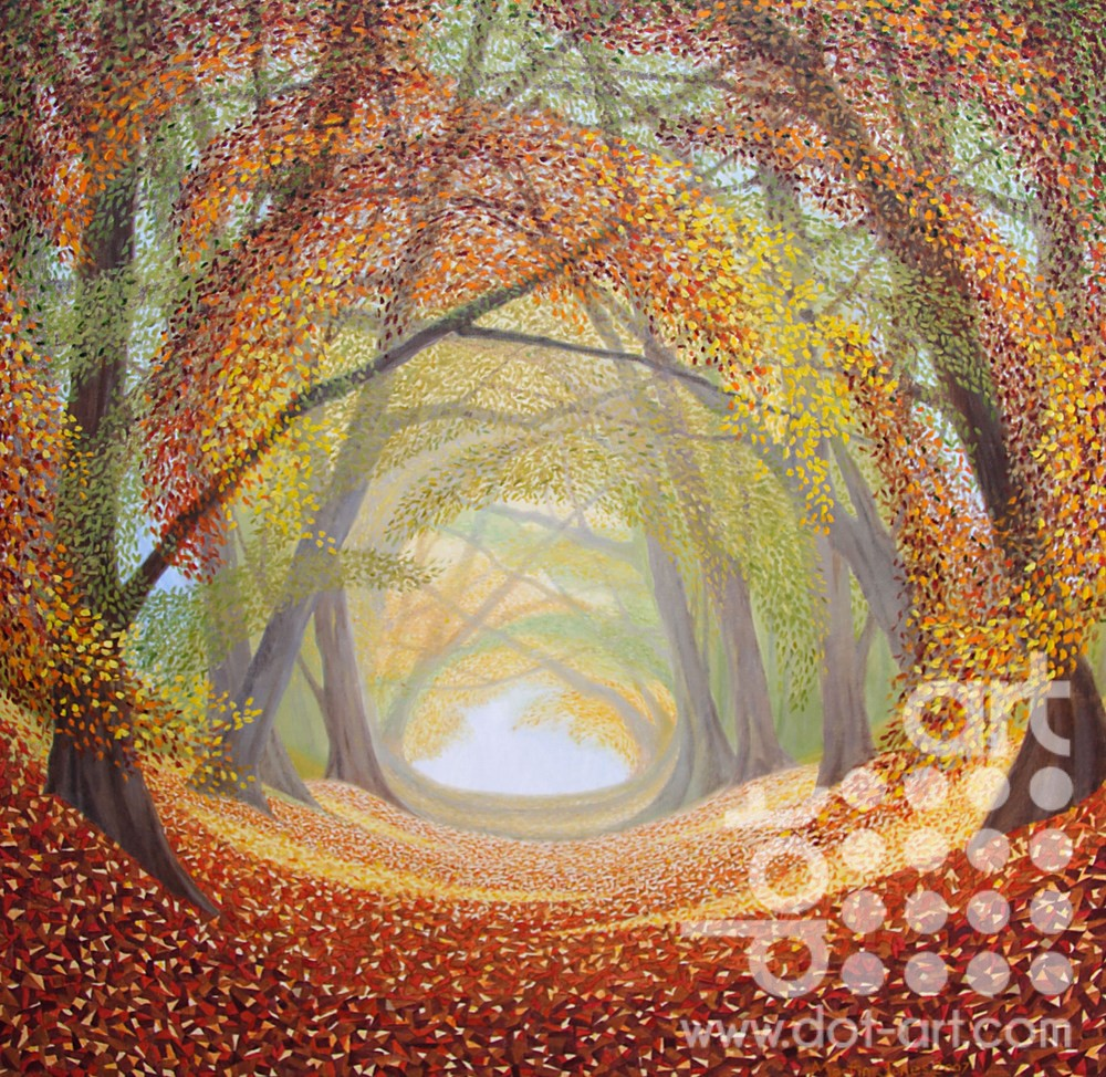 Beech Trees by Martin Jones
