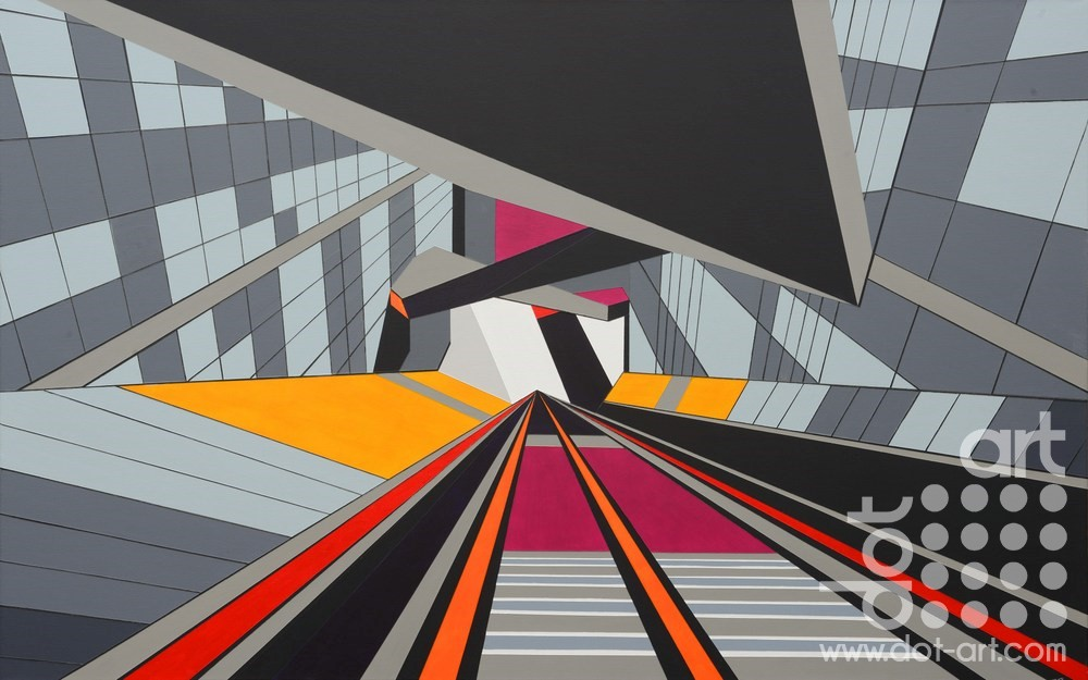 Down Liverpool One by John Petch