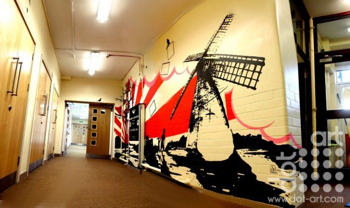 School Mural  by Joseph Venning