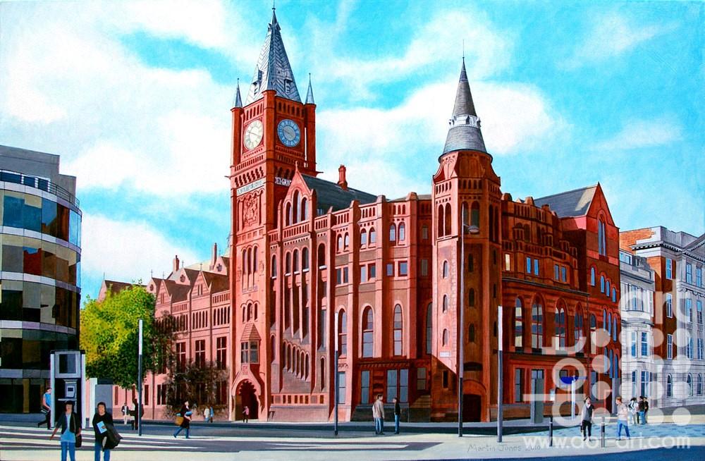 The Victoria Building by Martin Jones