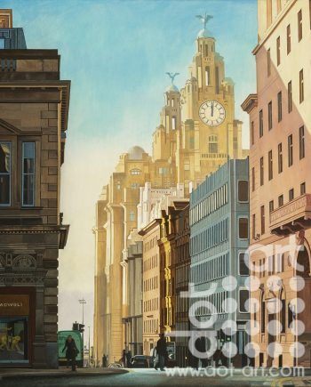 View of Water Street by Martin Jones
