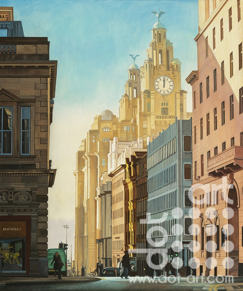 View of Water Street by Martin Jones