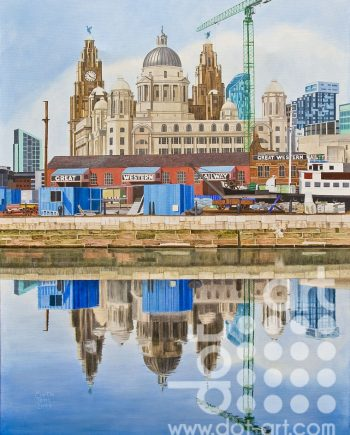 View of the Three Graces by Martin Jones