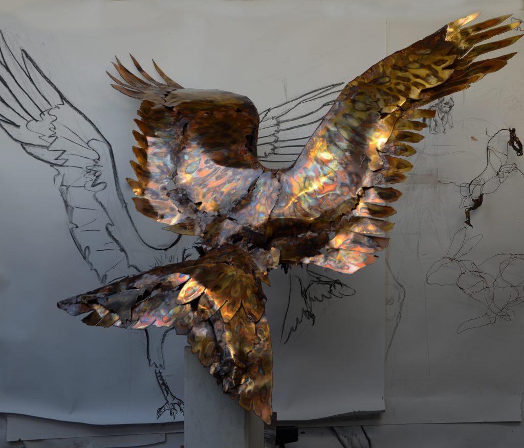 Liver Bird, Tony Evans