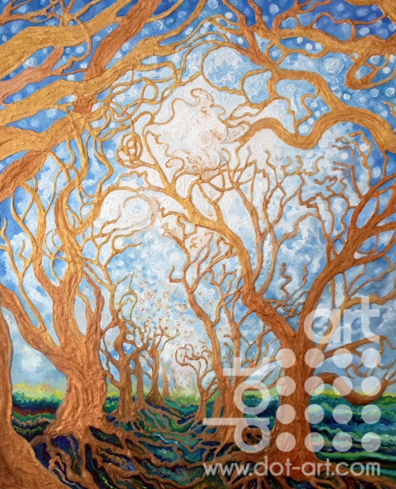 Celestial Trees by Madeleine Pires