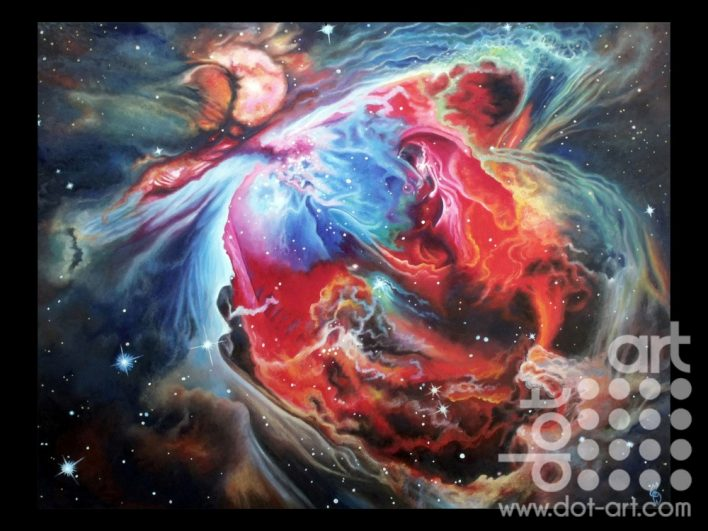 Inside the Orion Nebula by madeleine pires