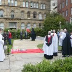 MV Derbyshire Memorial Unveiling