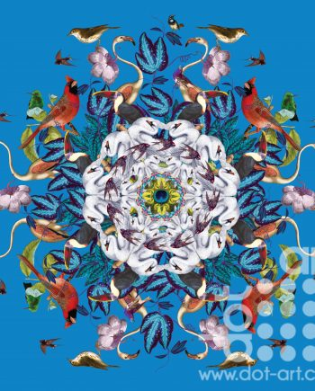 Bird Mandala by olga snell