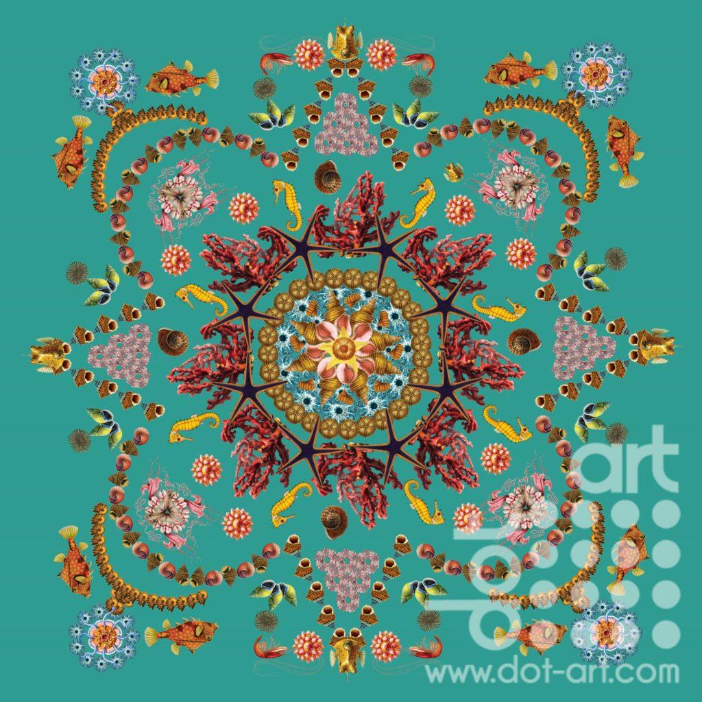 Seaside Mandala by Olga Snell
