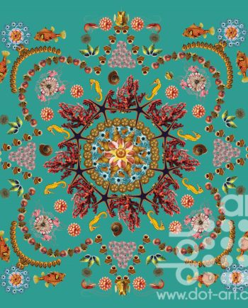 Seaside Mandala by Olga Snell