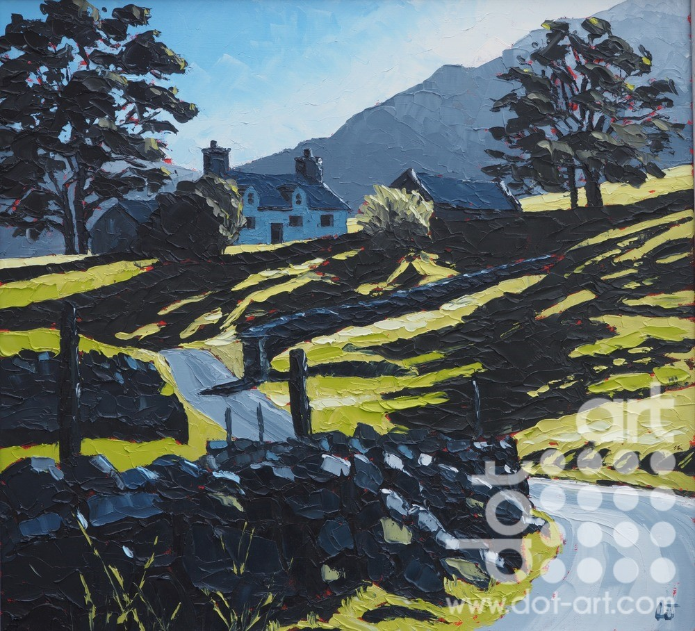 Cwm Nantcol,HIres by Huw Lewis-Jones