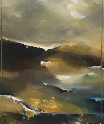 Estuary Reflective Landscape by Amanda oliphant