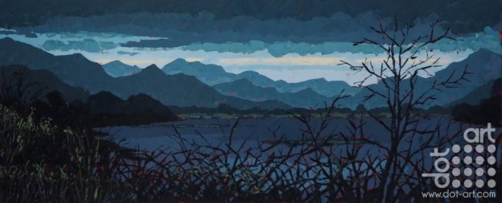Fading Light, Glaslyn Valley by Huw Lewis-Jones