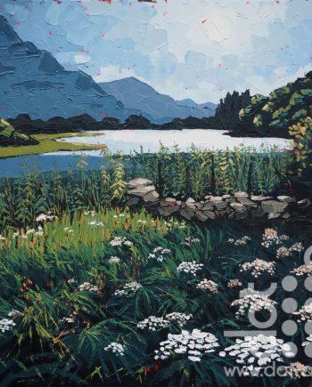 Llyn Gwernan, Spring by Huw lewis-jones