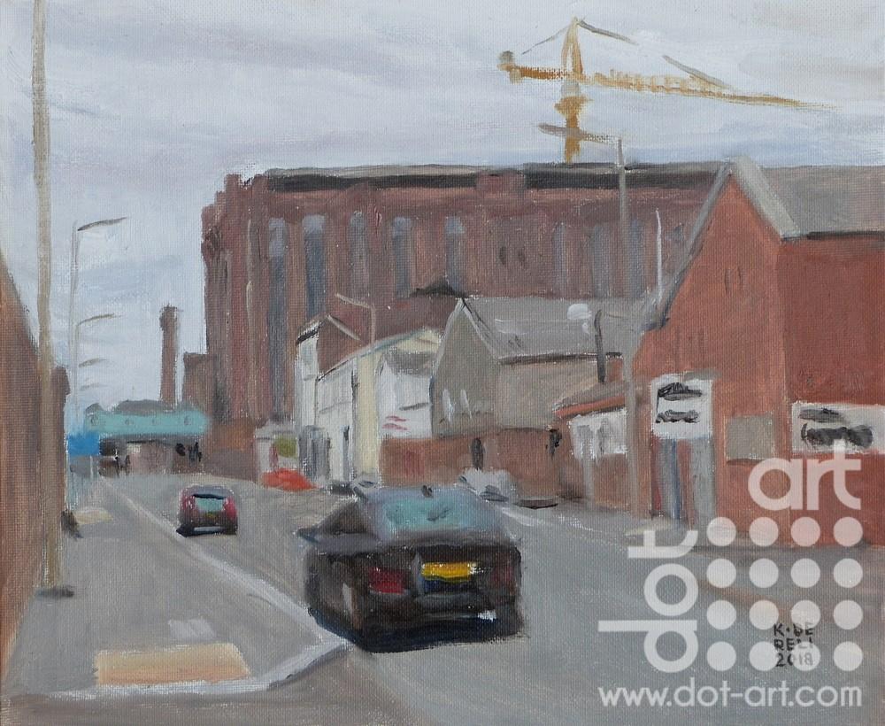 dock road by katherine dereli