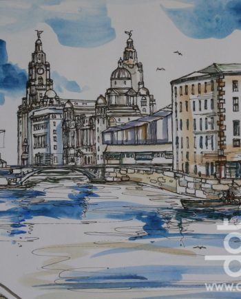 Albert Dock by Linda Poggio