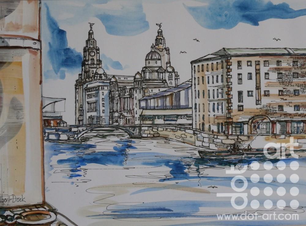 Albert Dock by Linda Poggio