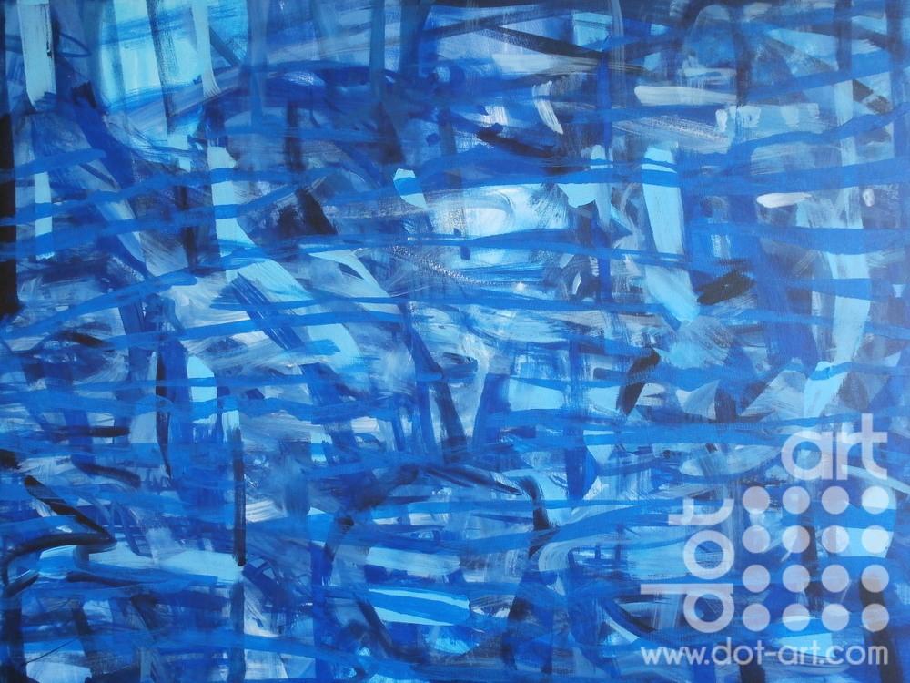 Blue Strand by Linda poggio