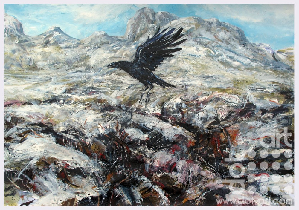 Crow-The-Great-Moss-Cumbria-John-Sharp