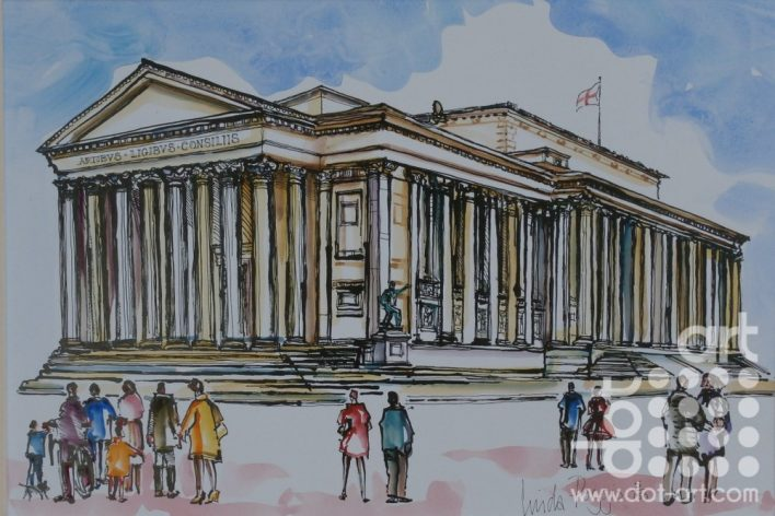 St Georges Hall by linda poggio