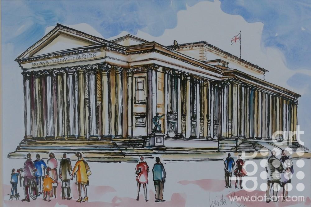 St Georges Hall by linda poggio