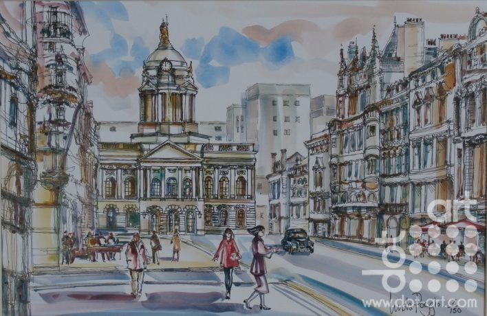 Town Hall by Linda Poggio