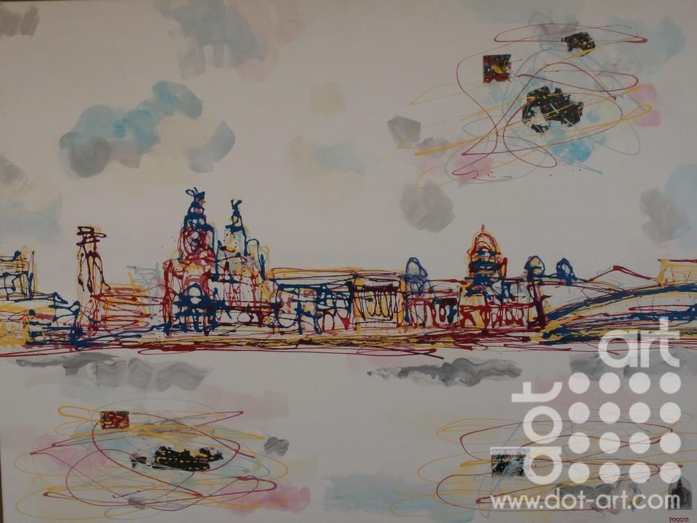Waterfront by Linda Poggio