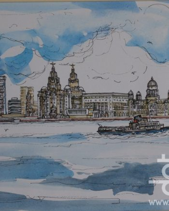 Liverpool Waterfront by Linda Poggio