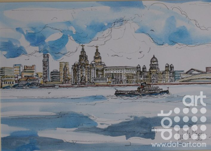 Liverpool Waterfront by Linda Poggio