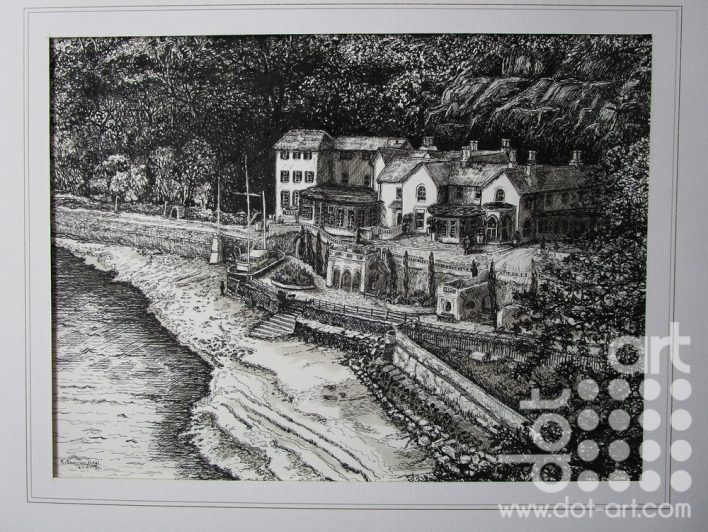 Porthmeirion by Beryl Jean Worth