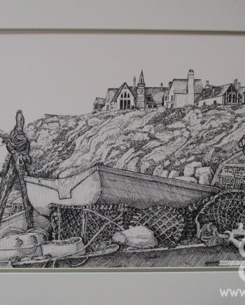 Port Isaac by Beryl Jean Worth