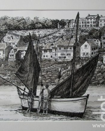 Low Tide at St Ives by Beryl Jean Worth
