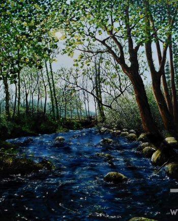 Afon Ysgethin by Hazel Thomson