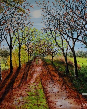 Autumnal Walk by Hazel Thomson