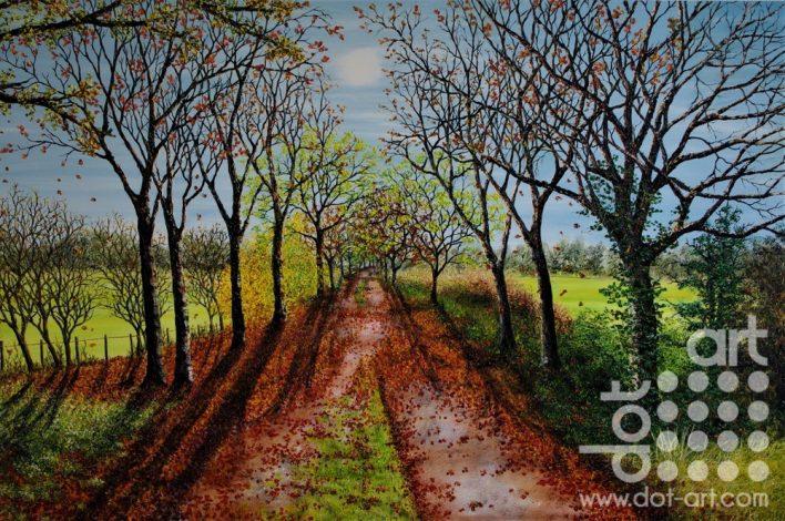 Autumnal Walk by Hazel Thomson