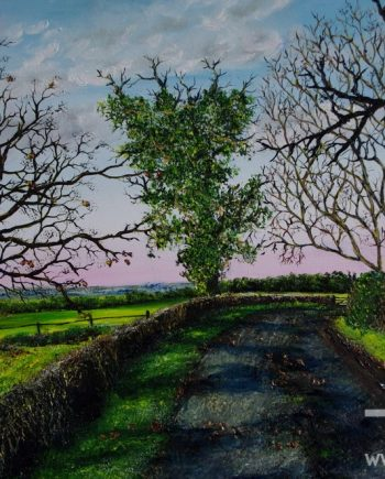 End of Winter in Cheshire by Hazel Thomson