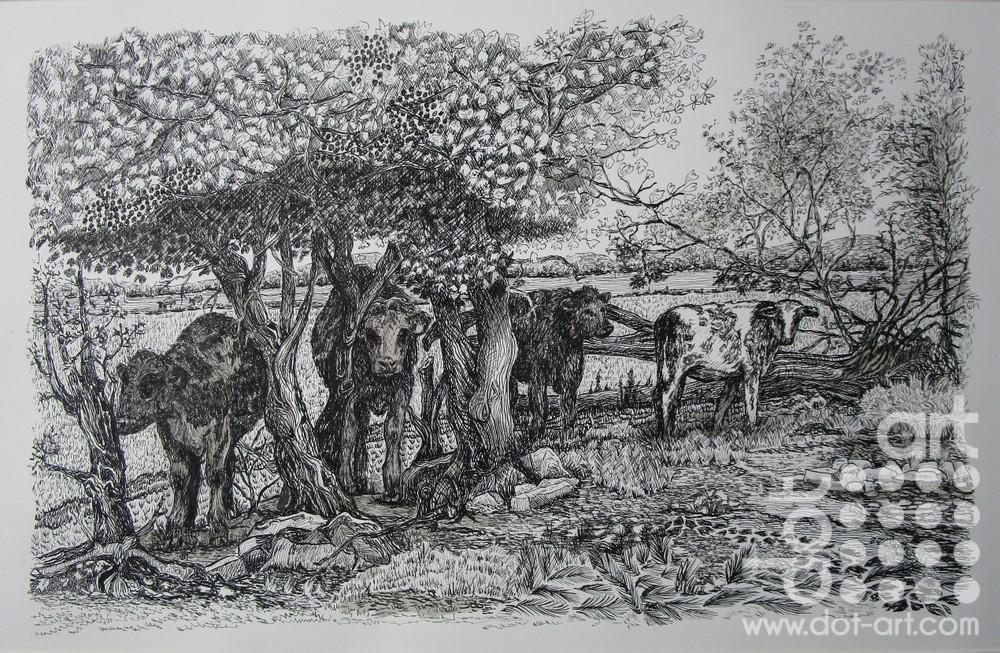 Shade of the Tree by Beryl Jean Worth
